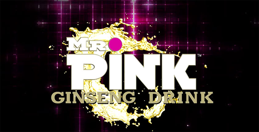 Mr. Pink Ginseng Drink LAUNCH PARTY VIDEO