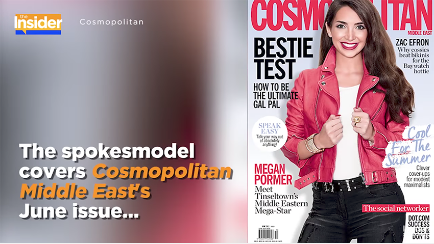 Meet Cosmo Middle East's June Cover Girl, Health and Beauty Advocate Megan Pormer