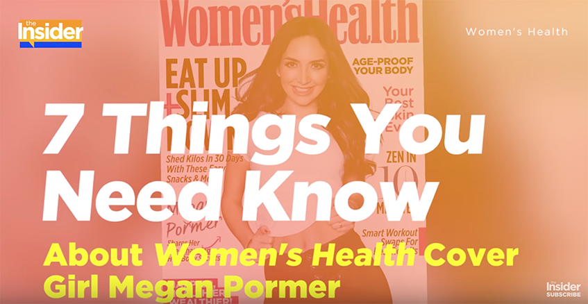 7 Things You Need Know About Women's Health Cover Girl Megan Pormer